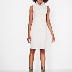 RW&Co sleeveless turtleneck sweater dress